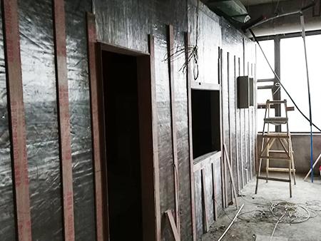 防辐射铅板施工
